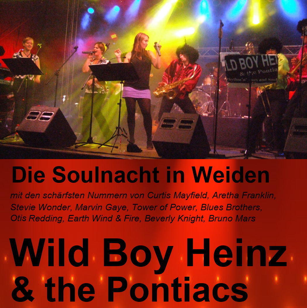 Flyer Soulnächte Tour