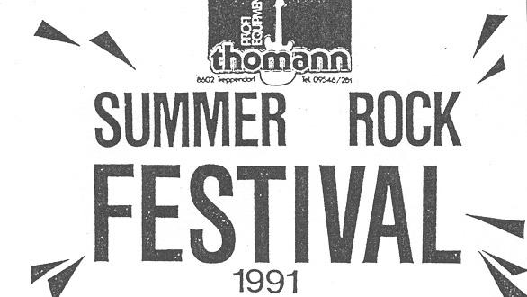 Sommer Rock Festival 1991