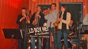 Soundcheck der Pontiac Horns 2004 in Jena