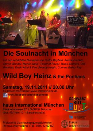 Wild Boy Heinz Flyer 2011
