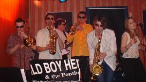 Die Pontiac Horns, Jena 2004