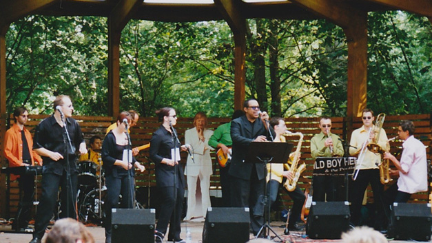 Bild: Serenade im Max-Reger-Park August 2000